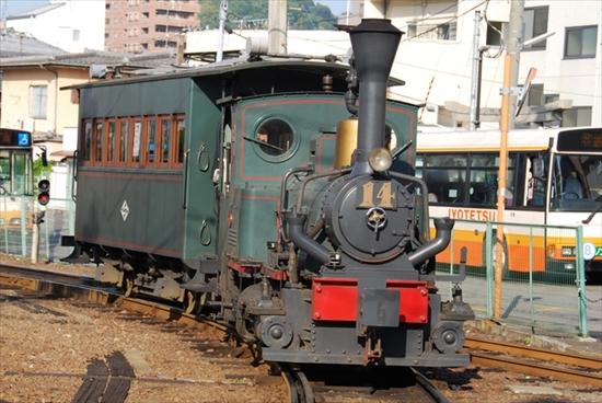 松山の坊ちゃん列車